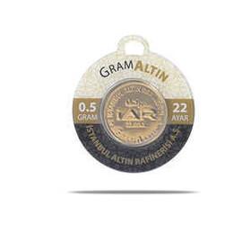 43 - 0.5 gr 22 Ayar İAR Gram Altın