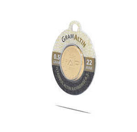 0.5 gr 22 Ayar İAR Gram Altın - Thumbnail