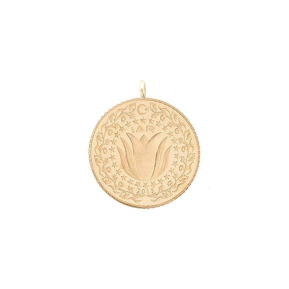 0.625 gr 22 Ayar İAR Yarı Çeyrek Altın