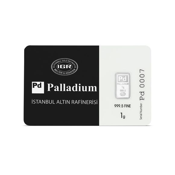 1 gr. Paladyum