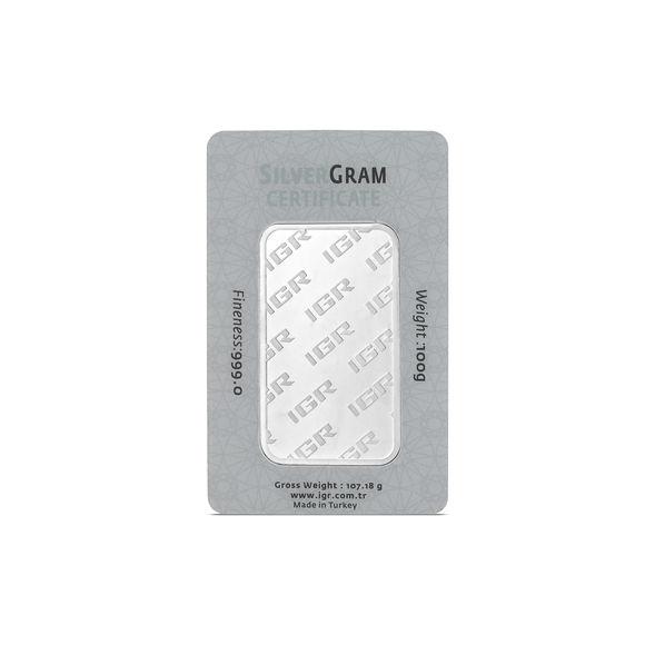 100 gr İAR Gram Gümüş