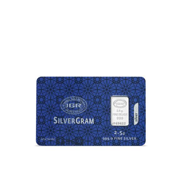 2.5 gr İAR Gram Gümüş
