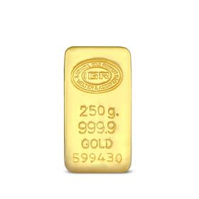 Gramaltın 999,9 - 250 gr 999.9 14 Gün İleri Tarihli Altın İAR Külçe Altın