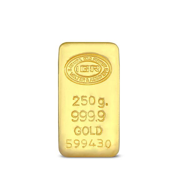 250 gr 999.9 14 Gün İleri Tarihli Altın İAR Külçe Altın