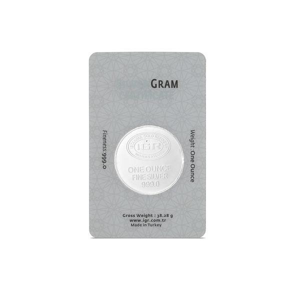 31.10 gr İAR Ons Gümüş