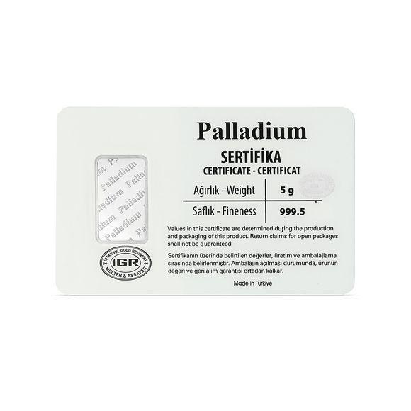 5 gr. Paladyum