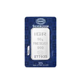 5 - 50 gr İAR Gram Gümüş