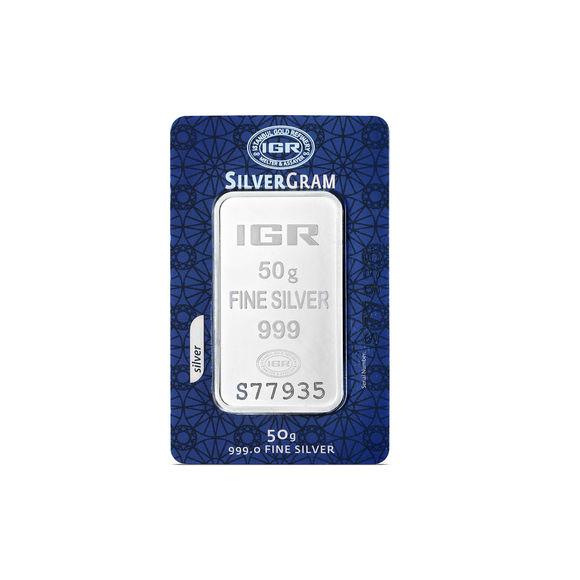 50 gr İAR Gram Gümüş