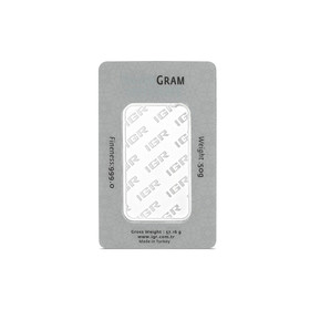 50 gr İAR Gram Gümüş - Thumbnail
