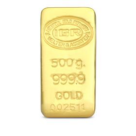 Gramaltın 999,9 - 500 gr 999.9 14 Gün İleri Tarihli Altın İAR Külçe Altın
