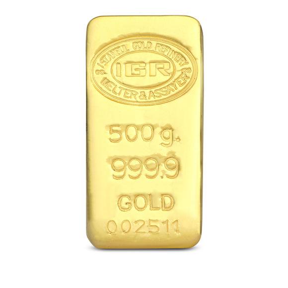 500 gr 999.9 7 Gün İleri Tarihli Altın İAR Külçe Altın