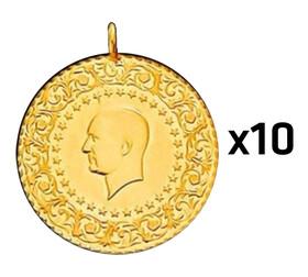 Eski Tarihli Darphane Tam Altın - Tam Altın Darphane 10 adet paket ( Eski tarihli )